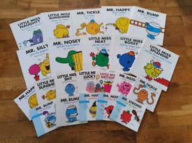 22 x Mr Men/Little Miss Books