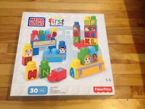 Ensemble Mega Bloks First Builders neuf