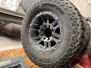 xd wheels and mickey thompson tire