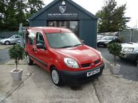 Renault Kangoo 1.2 16V AUTHENTIQUE (red) 2005
