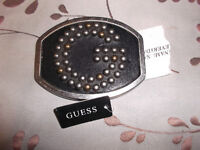 NEW WITH TAG Guess belt buckle - $10!