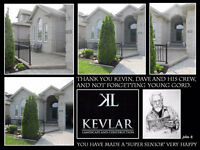 Kevlar Landscape and Construction