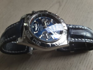Breitling chronomat 44, AB0110, watch.