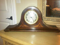 Antique Mantle Clock made by Sessions in Wood Case