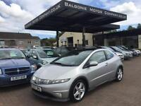 2007 Honda Civic 1.8 i-VTEC Type S GT Hatchback 3dr