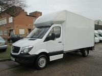 2014 Mercedes Sprinter 2.1TD 313CDI LWB LUTON BOX. TAIL-LIFT. NEW SHAPE. 1 OWNER