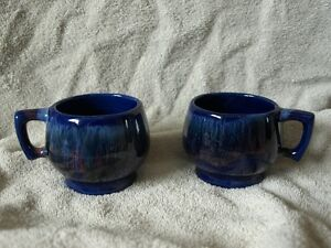 2 Vintage Beauceware Canadian Pottery cups