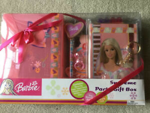 BRAND NEW-  BARBIE SUPREME PARTY GIFT BOX