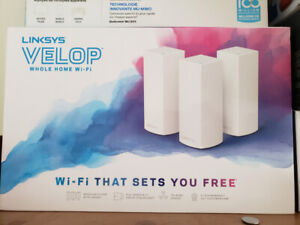 Blazing Fast Linksys Velop AC6600 Tri Band Mesh Network 3 Pack