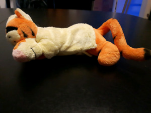 Sleeping tigger plushy