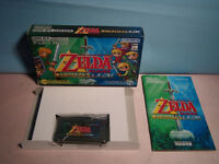 THE LEGEND OF ZELDA FOUR SWORD LINK TO THE PAST GBA COMPLET JAP