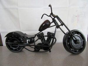 Unique miniature hand made motor cycle