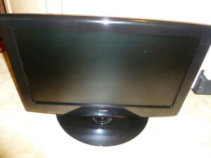 """COBY TFDVD1995 19"""" Black 720p LCD HDTV with Built-In DVD Player"""