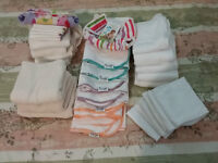 Cloth Diapers and inserts, excellent condition. Couches lavables