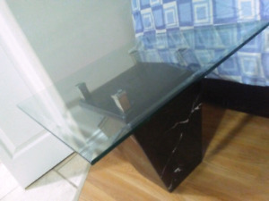 Glass coffee table for sale call or text 7785384448