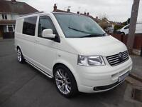 Volkswagen T5 2 Berth Professional Conversion Campervan Motorhome For Sale