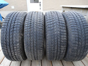 Michelin X-Ice i3 winter tires, 225 / 60 R 16
