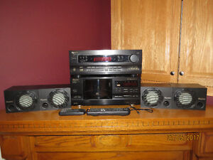 Pioneer Stereo System - Receiver, CD Player, Speakers, Remotes