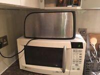 Microwave + toast big size 4 slice+ blender