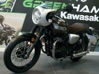 Kawasaki W800 Cafe (2020) Retro Cafe Cruiser - Save £1,700 - Only 1 miles