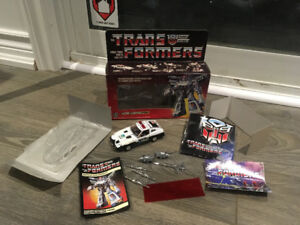 Transformers G1 1984 prowl MIB made in Japan