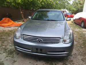 2004 infinity G 35X for sale
