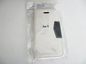 iPhone 5 5S SE Wallet Case with Credit Card Slots - Brand New