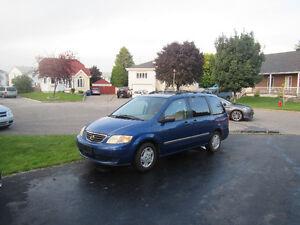 2001 Mazda MPV DX Minivan, Van