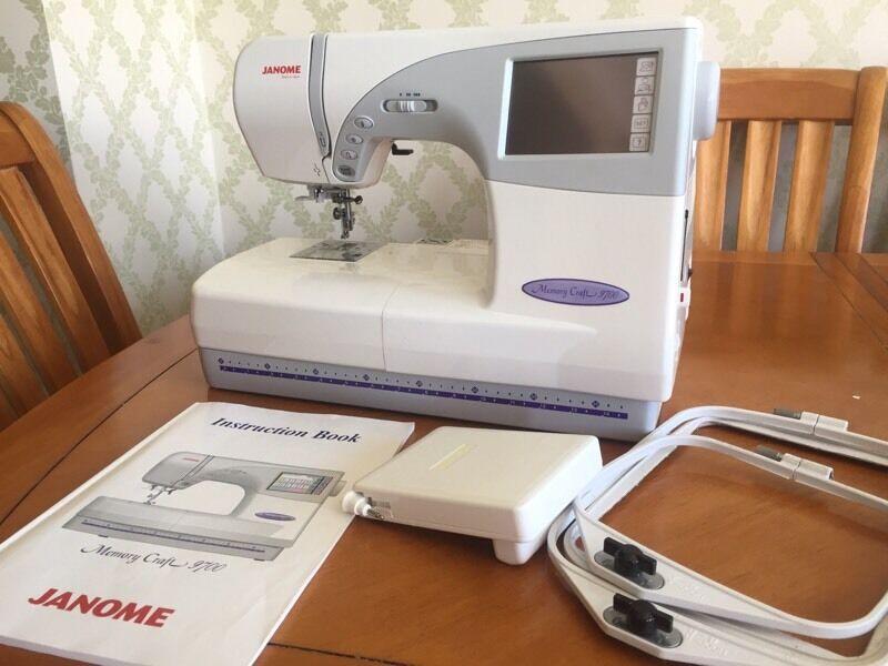 Janome Memory Craft 40 SewingEmbroidery Machine In South New Janome Memory Craft Mc 9700 Sewing And Embroidery Machine