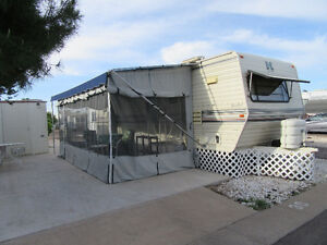 1994 KOMFORT TRAVEL TRAILER FOR RENT OR BUY