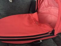 Quinny Moodd Foldable Carrycot Pink Blush