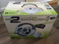 Micro con wheel and pedals for Xbox 360