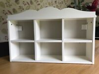 Shelving unit for girls bedroom or shop