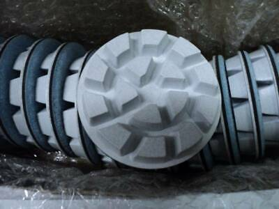 3 Wet Resin Concrete Floor Polishing Disc- 400- 3 Pcs Q7243 Ships From Mn