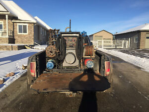 Lincoln 300d welder and skid