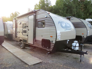 2017 Wolf Pup 16BHS by Forest River MINI-VAN TOWABLE! SLEEPS 5