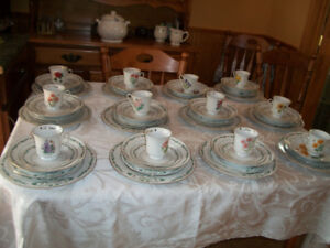 12 Piece Place Setting Dishes