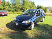 2001 Toyota Echo Sedan ~ NEW MVI! ~ ONLY 124,000kms!