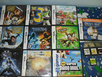Jeux DS Games: Super Mario, Tank Beat, Tron, 3 Star wars, Toy St