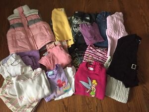 Lot of Girl's size 5 winter clothing
