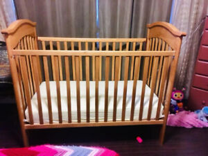 Crib - Real Birch Wood