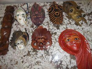 Masque de collection