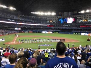 TORONTO BLUE JAYS TICKETS - AMAZING SEATS (SAME AS SEEN HERE)