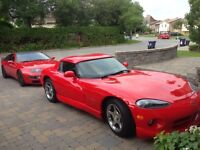 Dodge Viper rental for photo or movies
