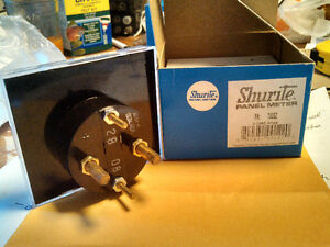 SHURITE PANEL METER, Amp Meter (#7505Z)  & Volt Meter (#7407Z) Cambridge Kitchener Area image 2