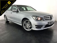 2013 63 MERCEDES C220 AMG SPORT CDI AUTO 1 OWNER SERVICE HISTORY FINANCE PX