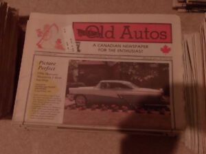 Old Autos Canadian newspaper for the Enthusiast