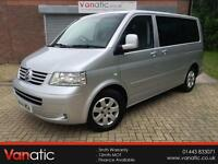 2004/54 Volkswagen Caravelle 2.5TDI 130PS Auto SE, Private Plate Included