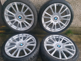 19 inch 5x120 Genuine Staggered BMW 3 series F30 Individual alloy whee