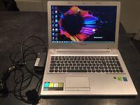 White Lenovo Z50 70 laptop